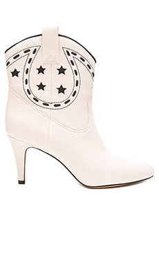 Marc Jacobs Georgia Cowboy Boot in Ivory