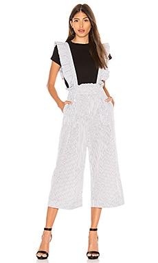 Ruffle Jumpsuit Marled x Olivia Culpo $128