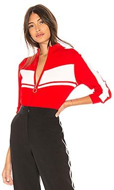 Track Jacket Marled x Olivia Culpo $138