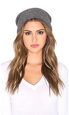 Mason by Michelle Mason Beanie in Grey
