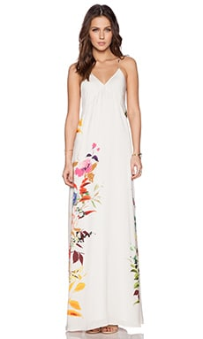 Mason by Michelle Mason Maxi Dress in Ecru