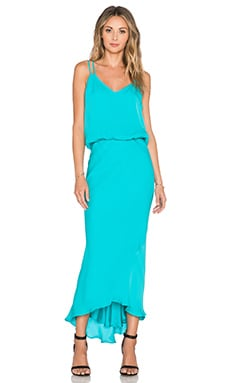 Mason by Michelle Mason x REVOLVE Double Strap Bias Dress in Aqua