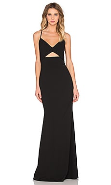 Bustier Gown in Black