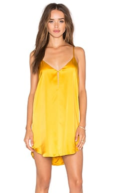 Mini Slip Dress in Mango