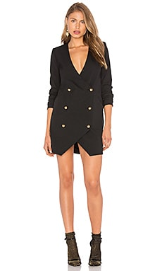 Michelle Mason Blazer Dress in Black