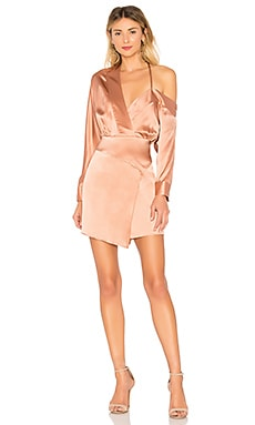Off Shoulder Mini Dress Michelle Mason $678