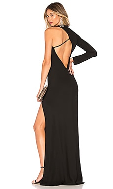 Asymmetrical Back Gown Michelle Mason $782 BEST SELLER