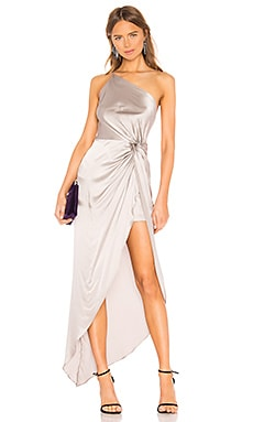 19732705022a Twist Knot Gown Michelle Mason $874 ...