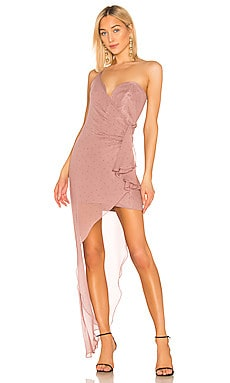Bustier Draped Gown Michelle Mason $350