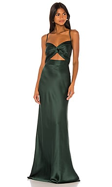 Twist Gown Michelle Mason $989 NEW ARRIVAL
