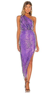 One Shoulder Dress Michelle Mason $897 BEST SELLER