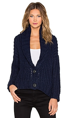 Mason by Michelle Mason Chunky Cardigan in Navy
