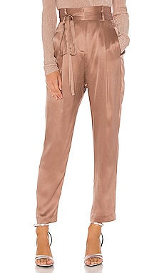 Paperbag Cropped Trouser Michelle Mason $176