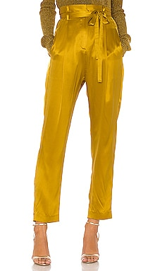 Paperbag Cropped Trouser Michelle Mason $495