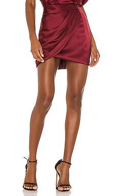 Draped Mini Skirt Michelle Mason $471 BEST SELLER