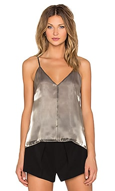 Mason by Michelle Mason Cami in Pewter