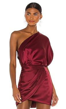 One Shoulder Lapel Top Michelle Mason $391