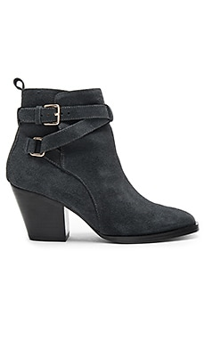 Amie Booties in Dark Grey