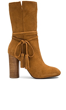 Miranda Booties in Hemp