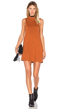 MATE the Label Ella Dress in Burnt Rust