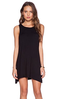 MATE the Label Syd Tank Dress in Black