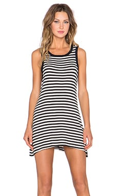 MATE the Label Syd Tank Dress in Classic Stripe