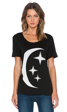 MATE the Label Summer Moon Tee in Black
