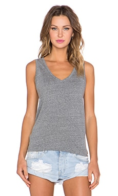 MATE the Label Dylan Tank in Heather Gray