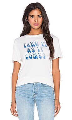 MATE the Label As It Comes Beau Tee in Vintage White