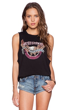MATE the Label Mate Wicked & Wanted Tank in Black