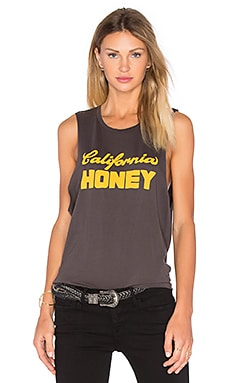 Cali Honey Tank en Noir Vintage