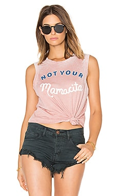 Tula Not Your Mamacita Tank in Sand