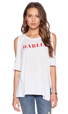 MATE the Label Stella Darlin Tee in White