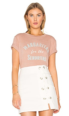 Beau Crew Margaritas For the Senoritas Tee in Sand