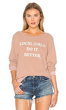 Gigi Local Girls Do It Better Jumper in Sand