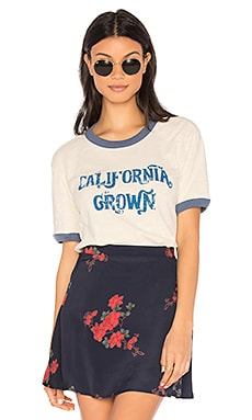 T-SHIRT OLIVIA RIN RINGER CALIFORNIA GROWN