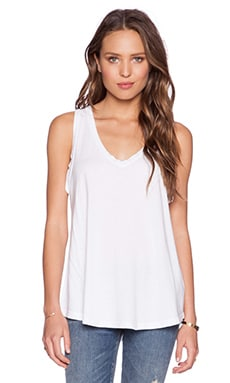 MATE the Label Dylan Tank in White
