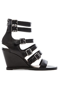 Matisse Honor Wedge in Black