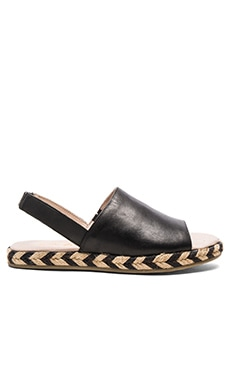 Capri Sandal in Black