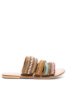 Korbin Sandal in Brown