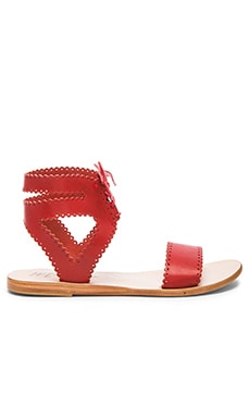 Natasha Sandal in Red