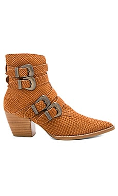 Harvey Booties in Tan