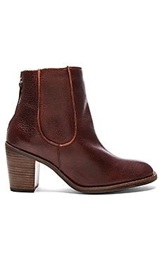 Mack Booties in Oxblood