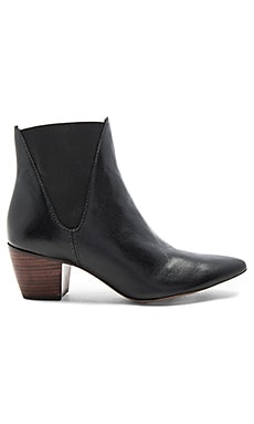 Sass Booties in Schwarz