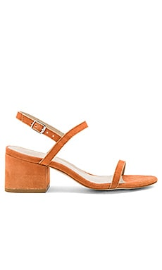Stella Sandal in Rust