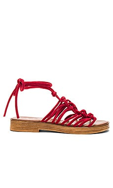 Origin Sandal in Red