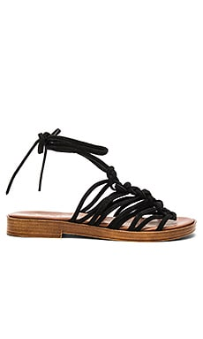 Origin Sandal in Schwarz