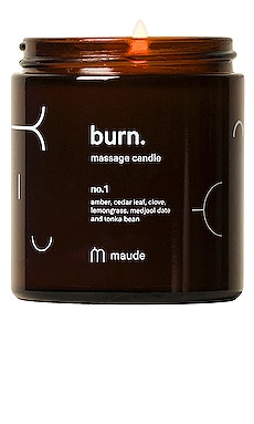 Burn Massage Candle No. 1 Maude $25 (FINAL SALE)