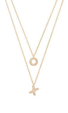 X REVOLVE XO Necklace Set Melanie Auld $130