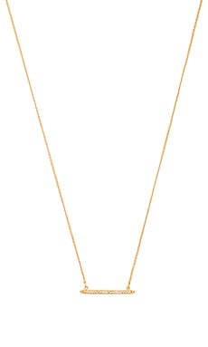 Melanie Auld Delicate Bar Necklace in Gold